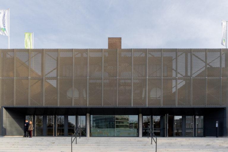 Antwerp Expo renovatie gevel OM/AR architecten