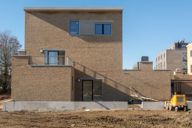 Neerland Wilrijk OM/AR architecten i.s.m. RE-ST architecten collectiviteit sociale huisvesting