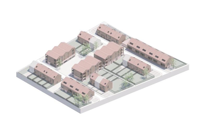 Lindelei Hogevelden sociale huisvesting OM/AR architecten contextueel bouwen