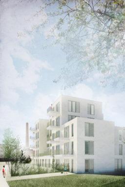 Fillature du Rabot Gent OM/AR architecten sociale woningen WoninGent